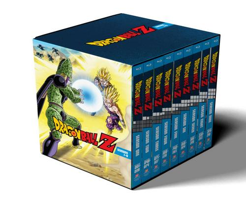 a Movie Dragon Ball Z: Seasons 1-9 Collection [Blu-Ray]