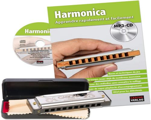 a Cascha Harmonica Set Beginner With Book
