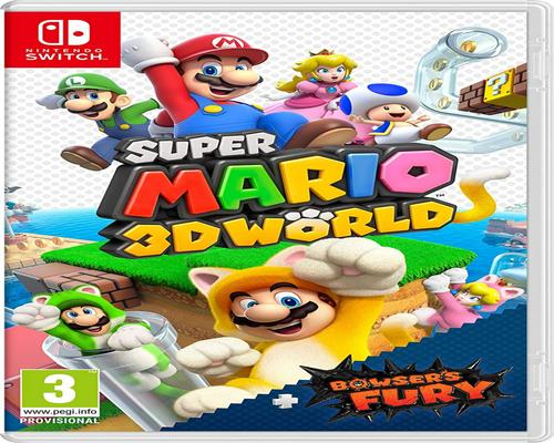 un Jeu Super Mario 3D World+Bowser Fury