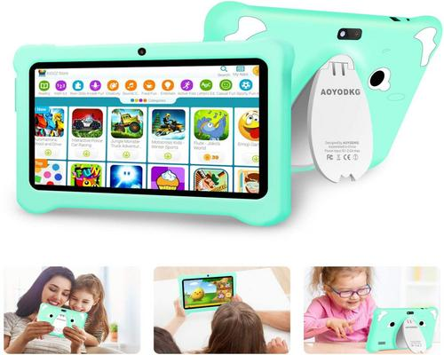 a 7 Inch Child Tablet, Ips Android 10.0 Certified By Google Gms