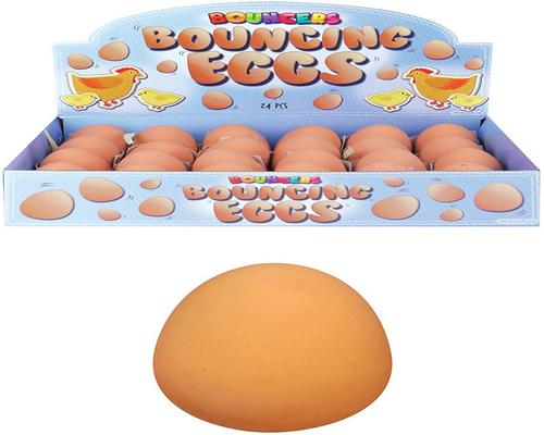 a Rubber Ball Egg Candy Box
