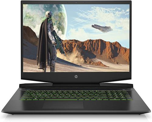 "a Computer Hp Pavilion Gaming 17-Cd1082Nf Pc Gaming 17,3 ""Fhd Ips Musta"