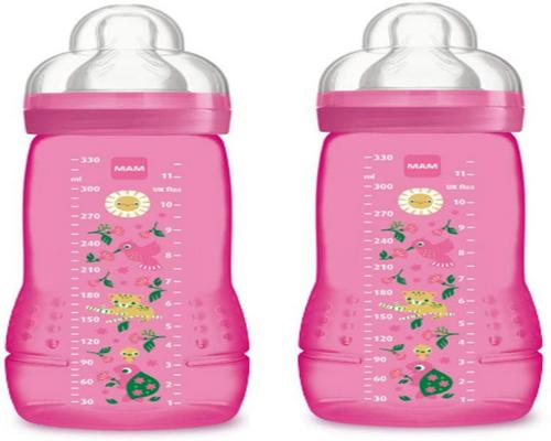 a Mam Easy Active 2nd Age Baby Bottle