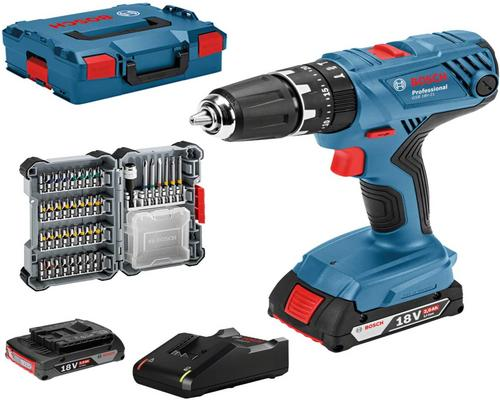 a Bosch Professional 18V System Percussion Cordless Drill Gsb 18V-21