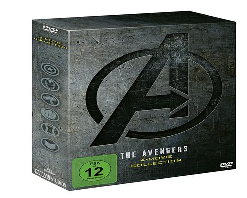 ein Film The Avengers 4-Movie Dvd Collection
