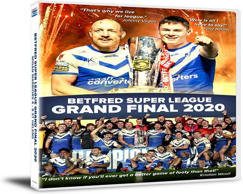 a Dvd Betfred Super League Grand Final 2020 Wigan Warriors 4 St Helens 8 [Dvd]