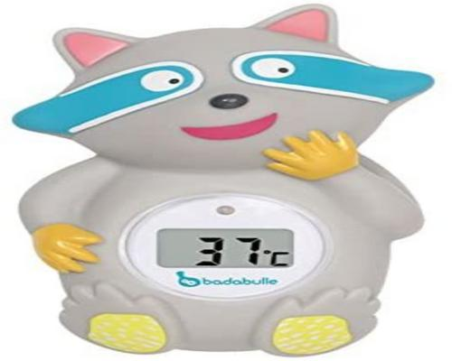 a Badabulle Raccoon Thermometer