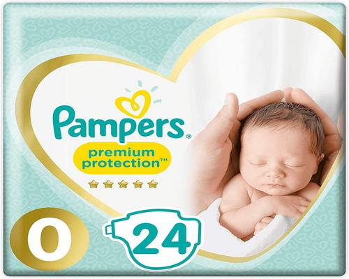 a Pampers Premium Size 0 -vaippa