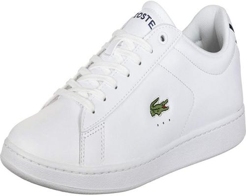 a Pair Of Basket Lacoste Carnaby Evo Bl 1 Spm