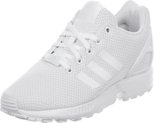 A Pair Of Adidas Zx Flux Sneakers