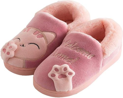 A Pair Of Kvbabby Cat Slippers