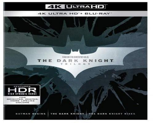 a Movie The Dark Knight Trilogy (4K Ultra Hd + Blu-Ray)