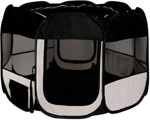a Foldable Playpen Dibea Puppy / Dog