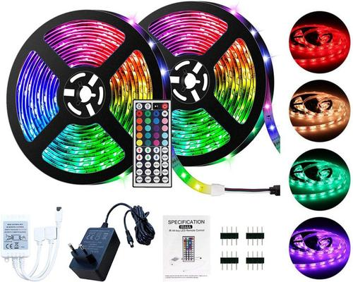 a Lseeka Led Strip 5 / 10M Led Strip 5050 Rgb