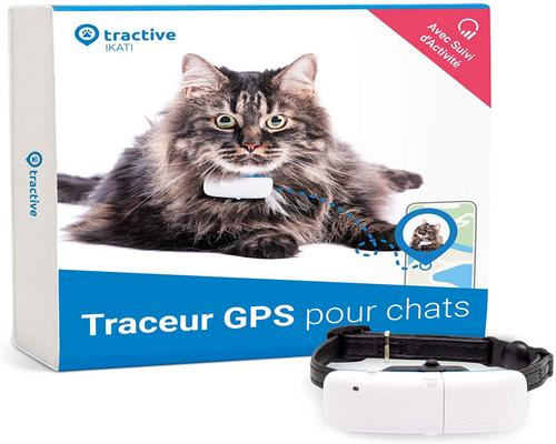 a Tractive Gps Chat Collar