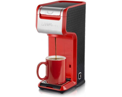 A 2 in 1 Single Serve Coffee Maker/Brewer