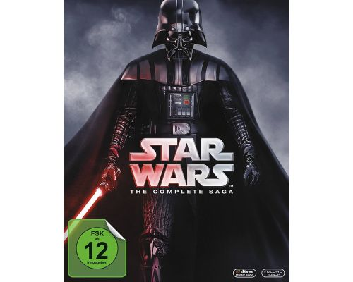 Blu Ray Box Set Star Wars: The Complete Saga