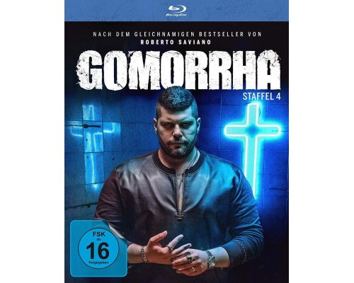 Ein BluRay-Box-Set Gomorrha - Staffel 4
