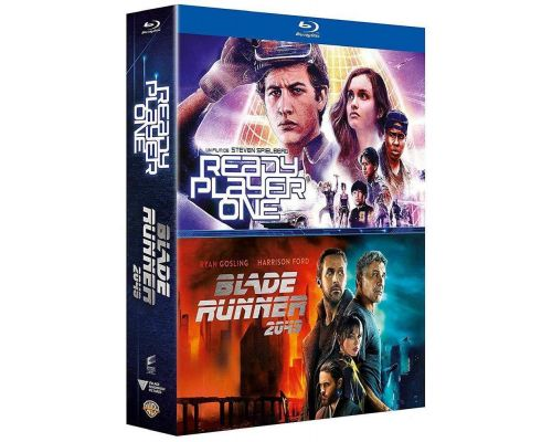 Un Coffret BluRay Ready Player One et Blade Runner 2049