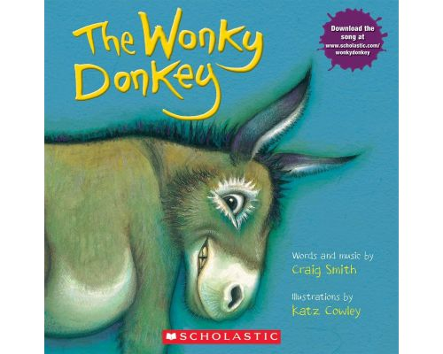 A Book The Wonky Donkey