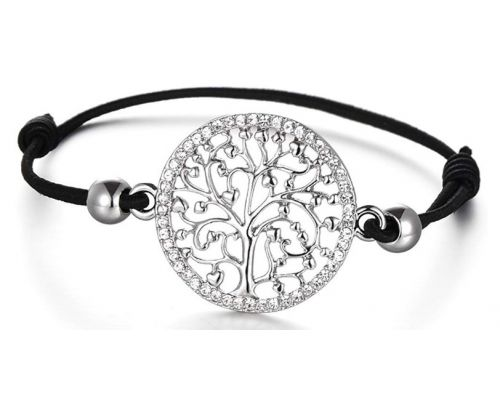 A Tree of Life Cord Bracelet