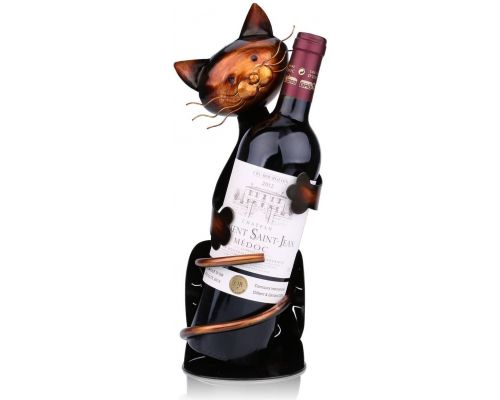 A Cat Wine Bottle Rack