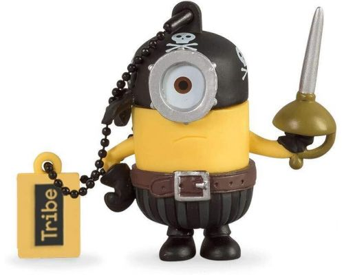 Ein 16 GB Minion Eye Matie Pirate USB-Stick