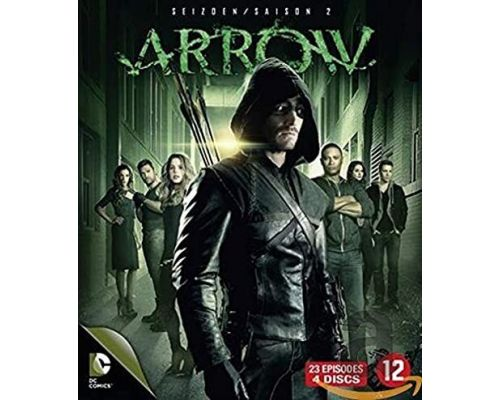 Un Coffret Blu-Ray Arrow-Saison 2