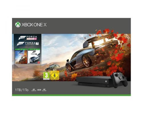 Une console Xbox One X 1 To - Forza Horizon 4/Forza Motorsport 7