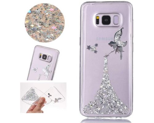 A Galaxy S8 Glitter Fairy Case