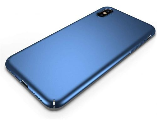 Una custodia per iPhone XS Max Blue