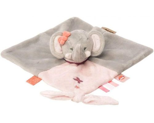 A Nattou Elephant Adele soft toy