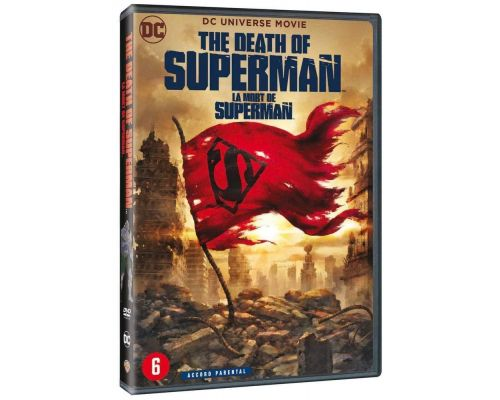 Un DVD La mort de Superman