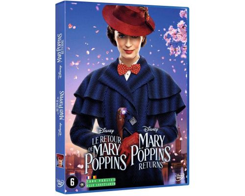 Un DVD Le Retour de Mary Poppins                                                                                                                                                                    ++
