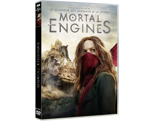 Un DVD Mortal Engines                                                                                                                                                    ++