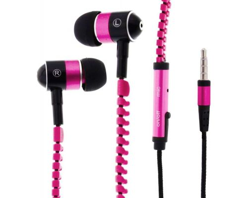 Zippered In-Ear Headphones