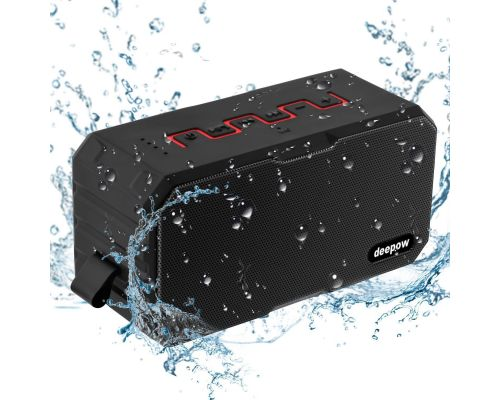 Une Enceinte Bluetooth Waterproof Deepow
