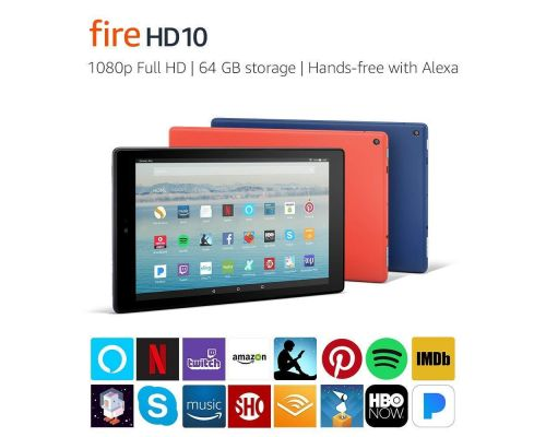 A Fire HD 10 Tablet
