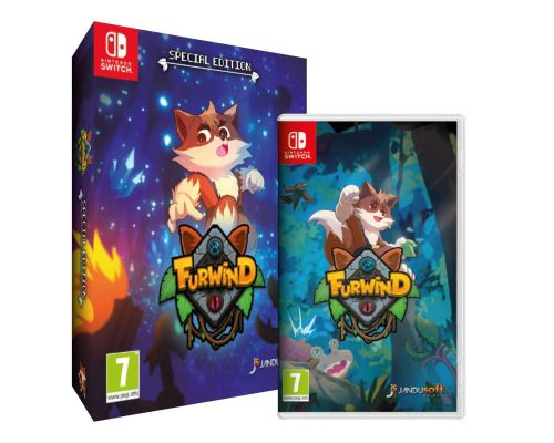 A Furwind: Special Edition Switch Game
