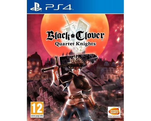 Un Jeu PS4 Black Clover : Quartet Knights