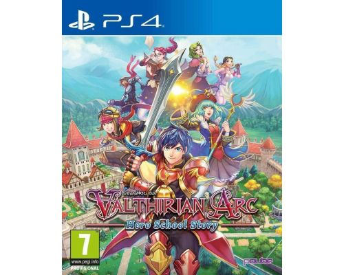 Un Jeu PS4 Valthirian Arc: Hero School Story