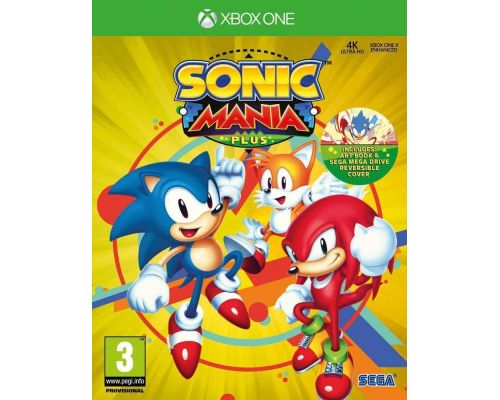 Un Jeu XBox One Sonic Mania Plus