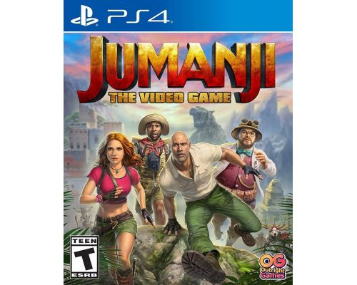 A Jumanji: The Video Game PS4 Game