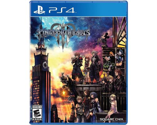 A Kingdom Hearts III PS4 Game