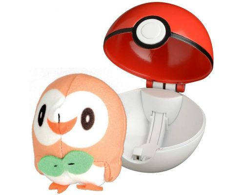 A PokeBall Launcher and its Brinbidou plush