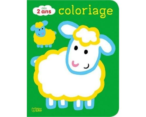 A Farm Animals Coloring Book