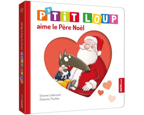 A book P'tit Loup loves Father Christmas
