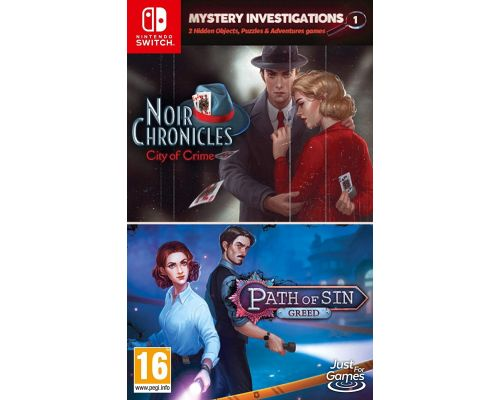 A Mystery Investigations Switch Game