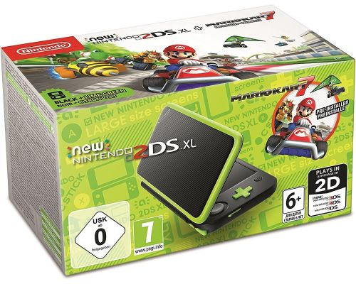 新的Nintendo 2DS XL