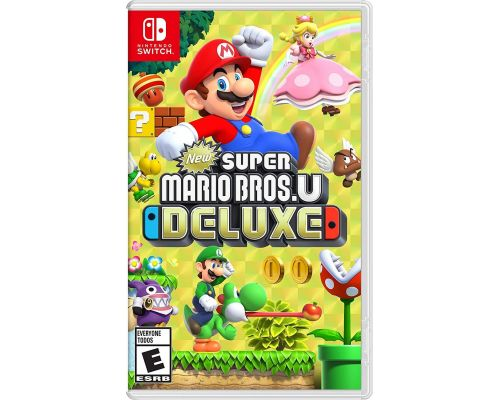 A New Super Mario Bros. U Deluxe Switch Game
